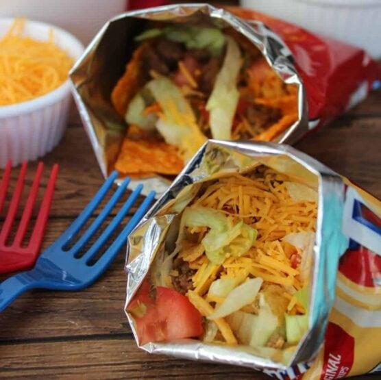 Taco in a bag/Walking taco