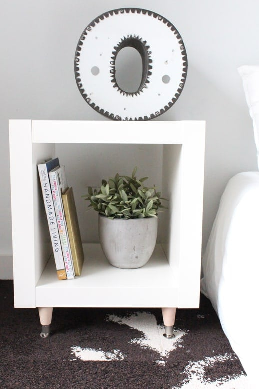 Diy ikea hack sidetable