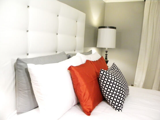Plush DIY headboard