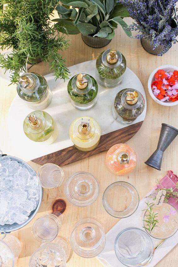 Add a mix & match cocktail bar