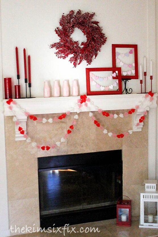 Mantel decoration