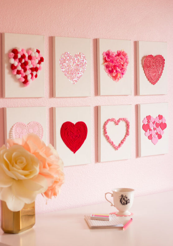 Canvas Heart Art